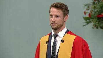 formula 1's jenson button awarded honorary degree in bath