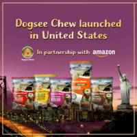 dogsee chew launches its 100% natural dog treats in united states