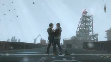 See Norman Reedus and Hideo Kojima Dance in the Rain in MGSV PC Mod