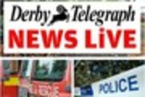 Derby breaking news: Accident on A38