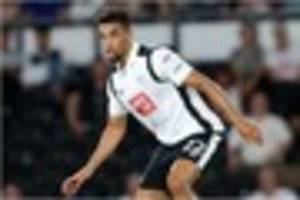 derby county striker's quick recovery provides boost for rams