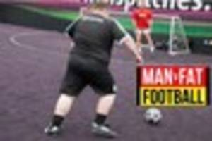 Man v Fat football league launches in Hull to help men lose...