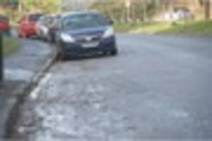 wrecked cars still line flood-hit street in bristol - 3 weeks on