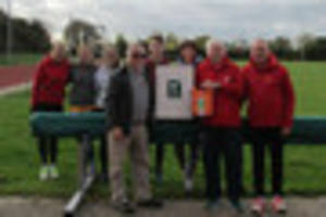 this 72-year-old runner raised enough cash for defibrillator...
