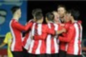 exeter city under-18s preparing to host wigan athletic in fa...