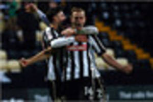 notts county to battle peterborough on tv for right to face...
