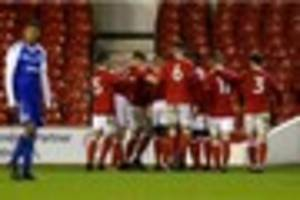 nottingham forest youngsters getting perfect preparation for step...