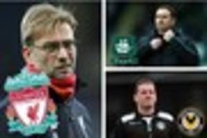 Derek Adams refuses to talk about Liverpool FA Cup tie for...