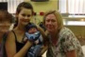 this woman acted as a surrogate mum for her daughter who was left...