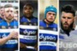 bath rugby team poll: pick your starting xv to face cardiff blues...