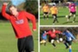 A double from Durosemo leads Bradley Rovers to another Premier...
