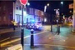 person taken to hospital after three-car collision in scunthorpe