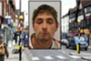 man who tried to rob lower addiscombe road shop with machete is...