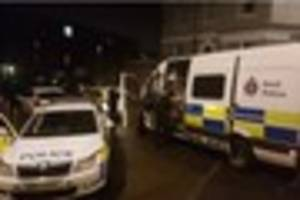 a man has been arrested after a 'disturbance' in tunbridge wells