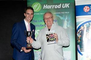 Haverhill athletics coach Mick Graham, 68, is honoured with three awards
