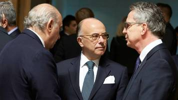cazeneuve steps up to 'protect' france