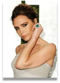 seek inspiration from victoria beckham's personal collection of platinum rings
