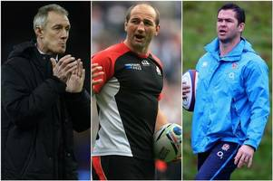 Rob Howley, Andy Farrell and Steve Borthwick confirmed as Warren Gatland's Lions assistants