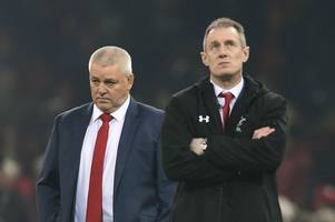 warren gatland declares wales 'the worst place in the world for criticism' during staunch defence of rob howley