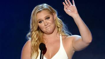 amy schumer's message to body shamers: i am strong and proud of how i live my life