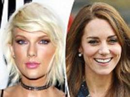 Do YOU have hot lips like Taylor Swift? Experts reveal which pout men deem the most attractive (and the Duchess of Cambridge doesn't fare too well)