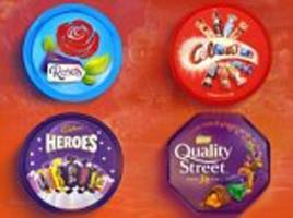 most popular christmas chocolates revealed in new quiz – but can you guess which ones are left in the box and which are scoffed in seconds?