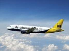 the airline price war is on: monarch scraps credit card booking fees saving families an average of £60 a flight
