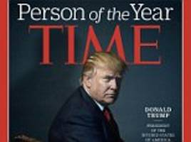 Time Magazine accused of likening Donald Trump to Hitler with Person of the Year cover