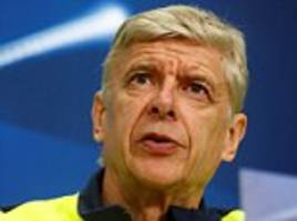 Arsenal news conference LIVE: Arsene Wenger speaks ahead of the Premier League game against Stoke City