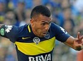 carlos tevez considering move to china as reports claim shanghai shenhua have offered striker huge £34million-a-year deal