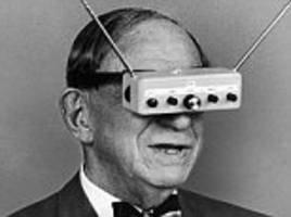 Did this man invent virtual reality glasses in 1963? 'Father of science fiction' Hugo Gernsback dreamt up 3D TV specs nearly 50 YEARS ago