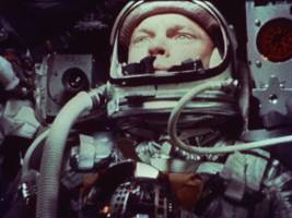 john glenn, who died thursday, was the first american to orbit the earth — see the original video