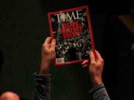time inc. shares jump more than 8% on reports it has hired bankers (time)
