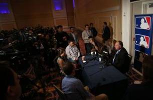 Los Angeles Angels Manager Talks To Media During Winter Meetings