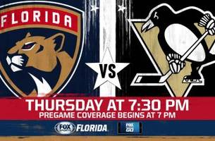 Pittsburgh Penguins at Florida Panthers game preview
