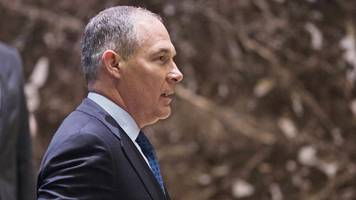 trump picks climate sceptic pruitt for environment chief