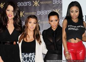 kardashian sisters try to block blac chyna from trademarking their family name. how she reacts?