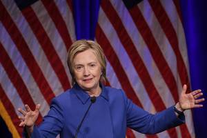 Hillary Clinton says 'lives are at risk' because of fake news