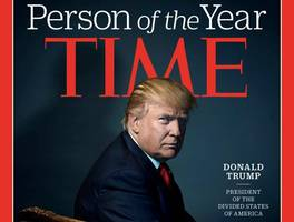 trump named as time magazine's person of the year