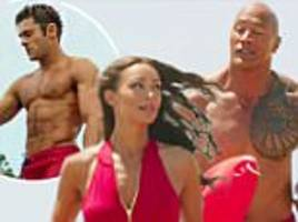 Zac Efron rocks chiseled abs in new Baywatch trailer