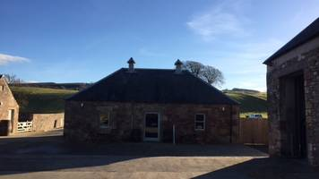 Jedburgh cowshed distillery gin to flow in new year
