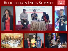 fintech storm's ms. arifa khan welcomes vitalik buterin to india to address the first ever blockchain india summit in new delhi 6 dec 2016