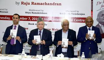 lexisnexis announces release of the book 'i've been around for some time: analyses, reflections and reminiscences', authored by raju ramachandran, sr. advocate, supreme court of india