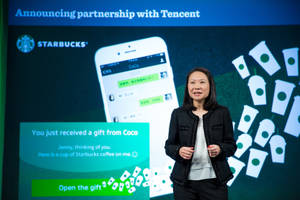 Starbucks and Tencent Announce Strategic Partnership to Launch Social Gifting on WeChat in China