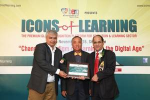 eage edusolutions awarded 'innovative edutech company' at icons of learning 2016