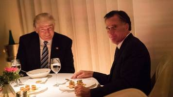 despite pushback, trump won't rule out romney for secretary of state