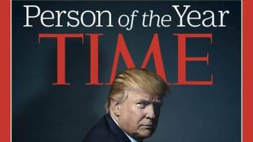 trump may have 'devil horns' on time's cover, but he's in good company