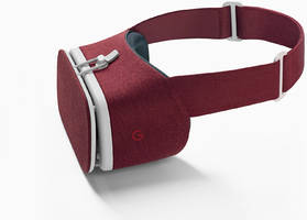 red and 'snow' daydream view vr headsets ship today