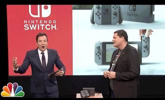 Jimmy Fallon got to play the Nintendo Switch and we're jealous AF