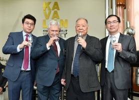 kavalan celebrates taiwan's first decade of single malt whisky